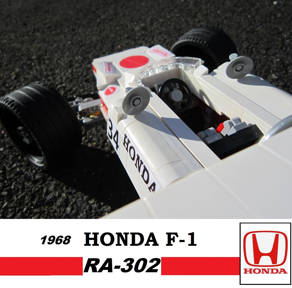 1968 Honda F1 RA302 Lego 18 Scale Greg 998 Tags Greg998 Technic