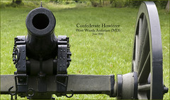 Confederate Howitzer -- West Woods Antietam (MD) Civil War Battlefield June 2011