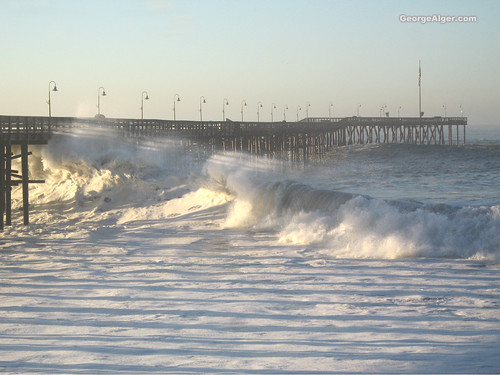 Big Wave on the Pier
