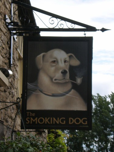 The Smoking Dog in Malmesbury