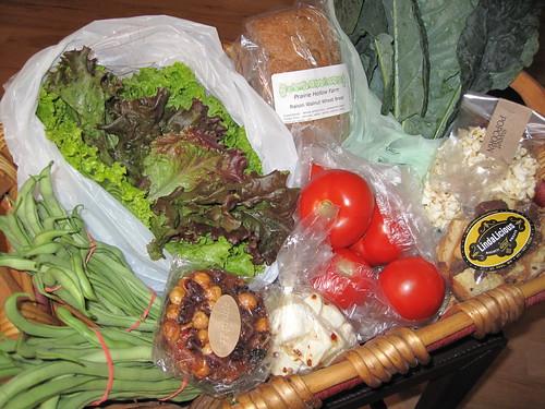 June 11, 2011, Mill City Farmers Market