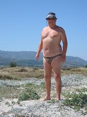 On the edge of the dunes by the Salt Lake (pj's memories) Tags: male beach kos greece briefs slip speedo vpl brief speedos bulge tingaki tanthru kiniki bearinspeedos huskyinspeedos bearinbikinibrief
