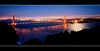 Golden Gate Lights (Tim T Photography) Tags: ocean sanfrancisco city longexposure bridge sunset seascape mountains water bulb nikon cityscape hard 9 sigma wideangle lee goldengate bayarea d200 1020mm marinheadlands gnd