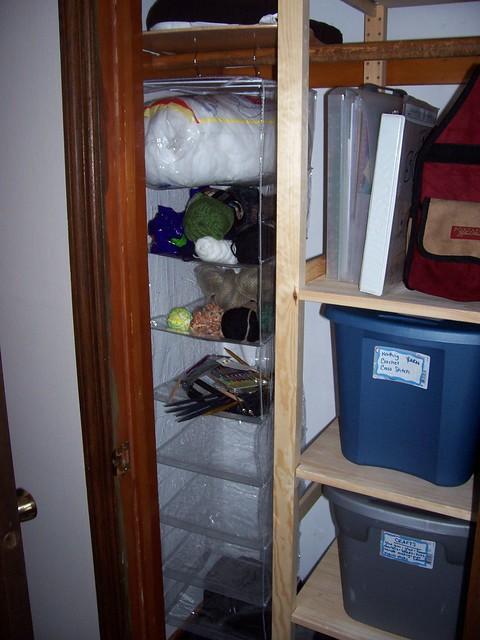 craft closet