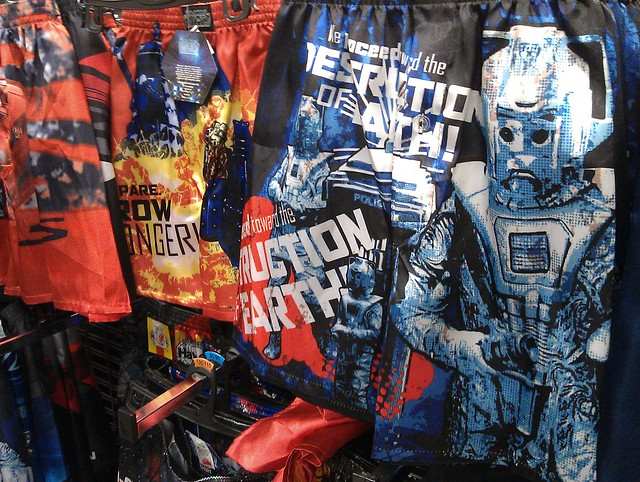 Doctor Who boxer shorts