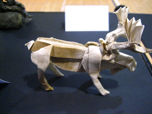 Origami By Children Exhibit 2011 Bull Moose