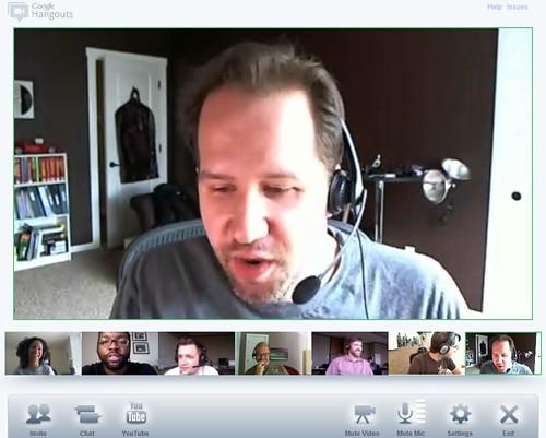 comedy hour in Google+ Hangouts
