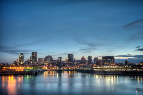 Montreal from the Concorde Bridge (HDR) [explored]