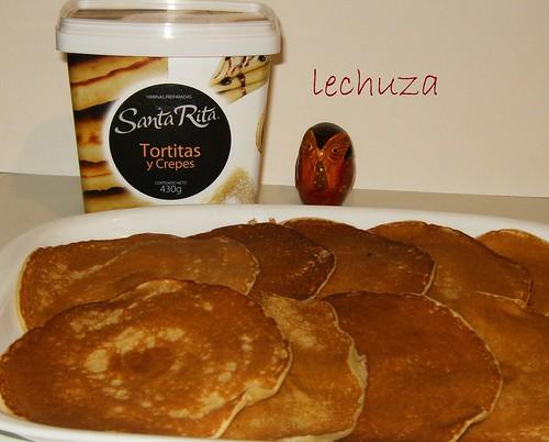 Tortitas con picotas-fuente harina