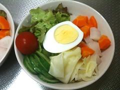 朝食サラダ(2011/7/5)