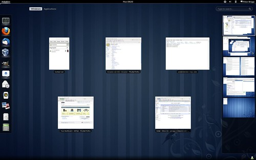 "Fedora 15: Workspaces ""popped out"""