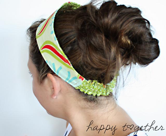 Headband on