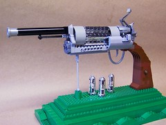 Big Gun of Brick (monsterbrick) Tags: toy gun lego western revolver winchester colt remington moc sixshooter