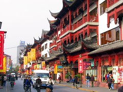 上海半日観光「豫園+テレビ塔+外灘」(車付・ガイド付・昼食付)