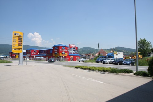 On the road to Sarajevo, Bosnia - 01