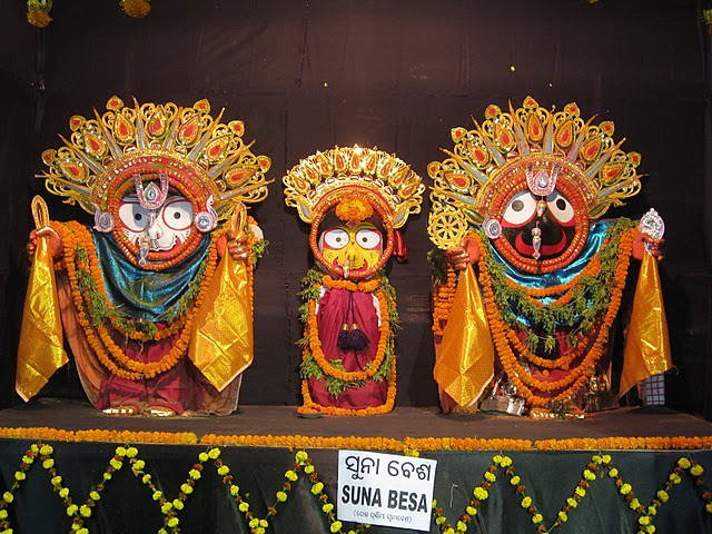 Suna Besha, Costumes Of Lord Jagannath