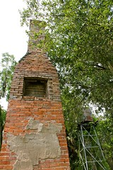 Evinston, FL. (farenough) Tags: chimney history abandoned rural florida decay stack historic forgotten hearth preservation alachua evinston
