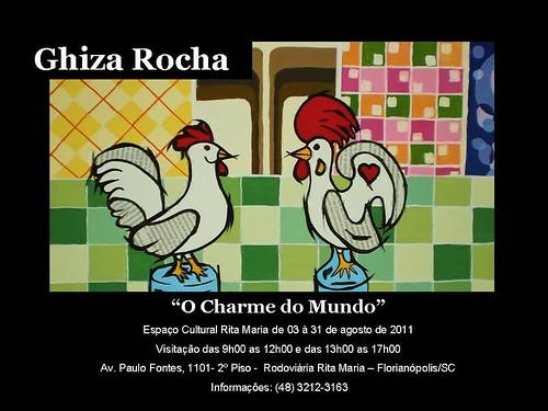 Convite by Ghiza Rocha