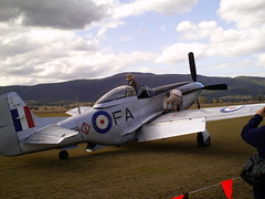 Aussie Mustang. (Img.junkie) Tags: vintage airplane flying aircraft aviation aeroplane ww2 mustang p51d aircraftdisplay