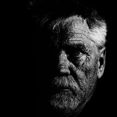 (Ivan Sorensen | www.ivansorensenphotography.com) Tags: light portrait blackandwhite bw ontario canada man male monochrome face eyes nikon natural bright hamilton malemodel d90 niksoftware capturenx2 nikcep