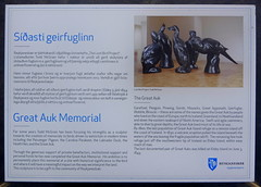 Great Auk Memorial (Badly Drawn Dad) Tags: sculpture geotagged iceland memorial landsend isl reykjanesviti grindavk greatauk westernpeninsula suurnes strongwinds fierceweather geo:lat=6381247150 geo:lon=2271520128
