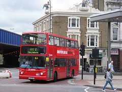 Arriva London VLA42 (LJ53BCU) - 07-04-12 (peter_b2008) Tags: buses volvo transport alexander coaches transbus alx400 b7tl arrivalondon buspictures arrivagroup vla42 lj53bcu
