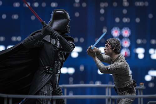 I Am Your Father  Luke Skywalker VS Darth Vader on Bespin X  a
