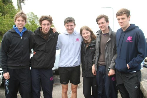 Fettes College team for 2012 SIPR