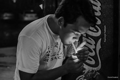 Time Out (Patrick Casabuena) Tags: park bw apple beer rain night project 50mm nikon paolo ultimate laptop 4 diego pickup frisbee 365 nikkor ping bautista narciso renzo cuenca lok quemado intoxication 14d macbook 124365 ermitano d7000
