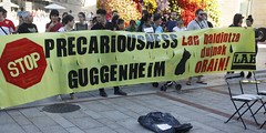 _MG_6419 (txengmeng) Tags: guggenheim museum museoa bilbao bilbo baskenland streik greba huelga