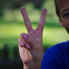 Peace (michael.veltman) Tags: peace project hand sign gesture