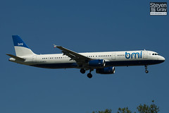 G-MEDL - 2653 - BMI British Midland - Airbus A321-231 - Heathrow - 100617 - Steven Gray - IMG_4260