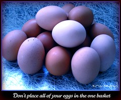 Don't Place All Of Your Eggs In The One Basket