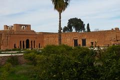 Marrakech - Palazzo Badii (elipandi) Tags: maroc marocco marrakech ouarzazate fes volubilis meknes atlante travelmorocco
