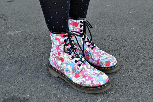 Sanrio Shoes Doc Martens
