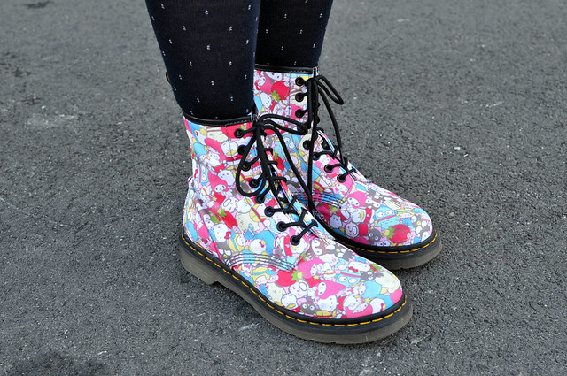 Sanrio Shoes Doc Martens