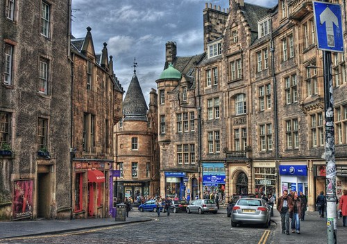 walkable Edinburgh (by: vgm8383, creative commons license)