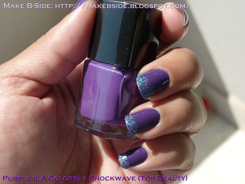 Purple(L.A. Colors) + Expressions of Night(Top Beauty)