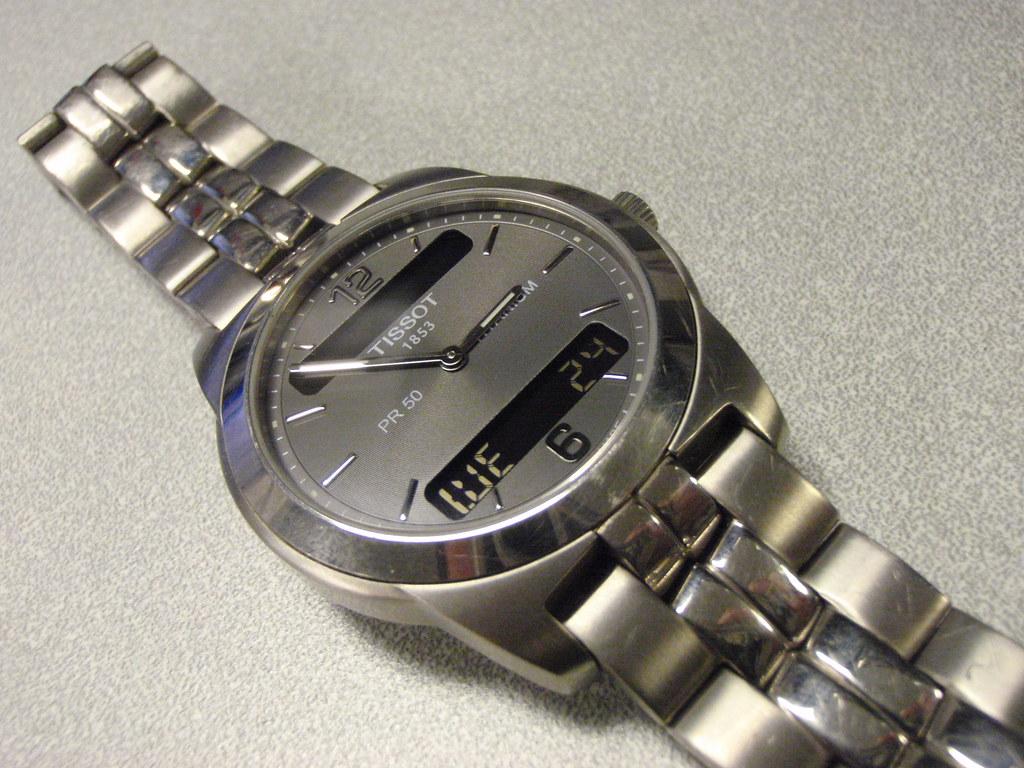 Часы тиссо pr50titanium