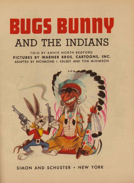 Bugs Bunny & the Indians002