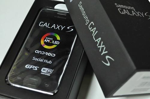 GALAXY S 購入 開梱