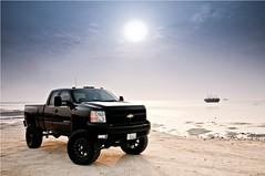 Chevy Monster - III (awadi) Tags: chevrolet truck nikon chevy 09 kuwait silverado 2009 fabtech awadi 1024mm d300s iawadi