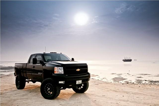 chevrolet truck nikon chevy 09 kuwait silverado 2009 fabtech awadi 1024mm d300s iawadi