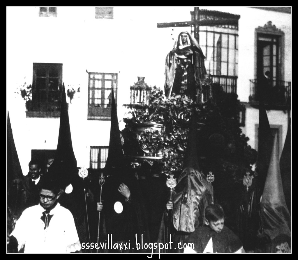 Nuestra Señora de Gracia y Esperanza Lunes Santo 1937 s Ildefonso