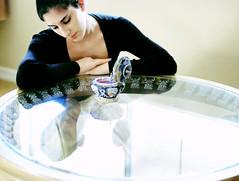 themusicbox 3 (Ciara*) Tags: ballet music black reflection window glass ballerina box bun tutu leotard trinket