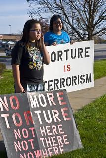Anti-Torture Vigil - Week 23