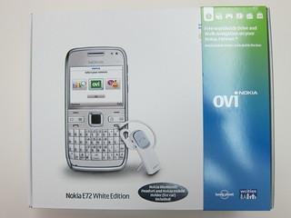Nokia E72 (White Edition)