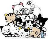 tama and friends!!! تاما و الاصدقاء لول (skellington's) Tags: friends dog cat tama animation قطو
