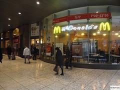 McDonald's Lille Gare SNCF Lille Flandres Rue de Tournai (France)