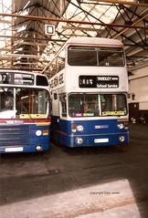 6978 WDA 978T (onthebeast) Tags: travel west green buses garage service leyland fleetline midlands wmt acocks